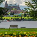 701-11 - Carleton Park, located along the St. John River on Fredericton's northside, has a superb view of the City, especially at sunset. Large open spaces, with a number of elm trees, this green area provides a popular space for picnics, quiet strolls, as well as a public boat launch.